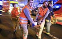 フランスのパリ 同時テロ事件
