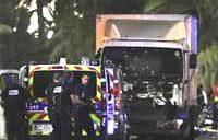トラック突入テロ、80人死亡