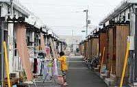 熊本地震から半年、仮設住宅9割完成