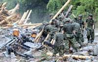 九州豪雨で死者が21人