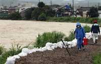 新潟・福島で豪雨